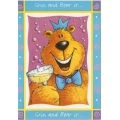 Grin and Bear it Birthday Card