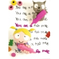 You are a fab mate  Birthday Card